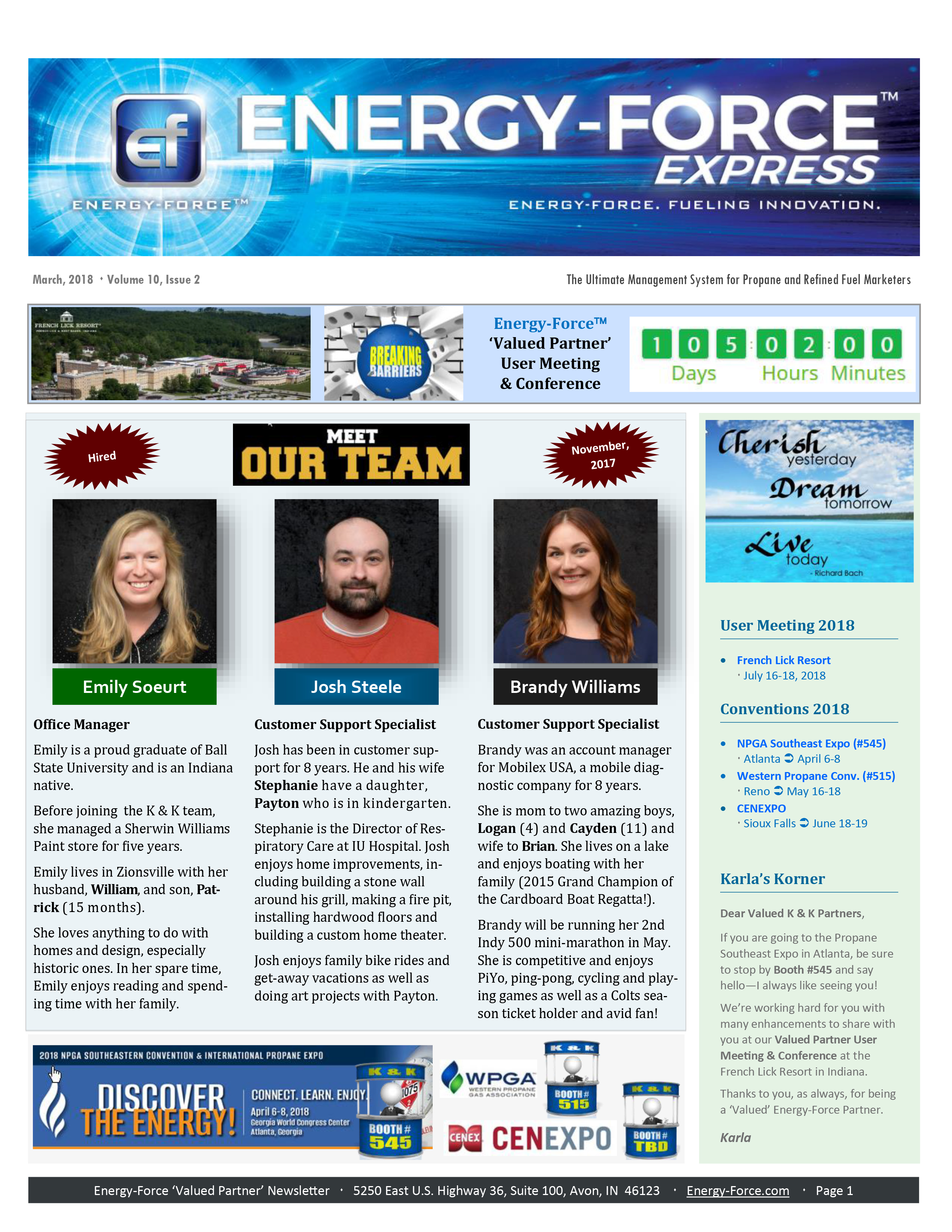 Newsletters | Energy-Force